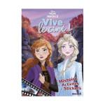 Album multi activités La Reine des Neiges 2 Vive le ciné !
