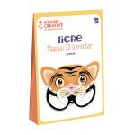 Masque 3D à monter Tigre
