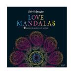 Carte à gratter Art thérapie Love Mandalas