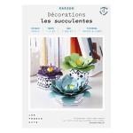 Kit papier Décorations les succulentes