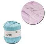 Creative Paper - Papier à crocheter - Lilas - 55 m