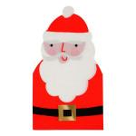 Serviettes Père Noël 11,5 x 21 cm - 16 pcs