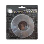 Rouleau magnétique adhésif 3 m x 2,5 cm
