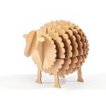 Mouton à monter en carton taille S