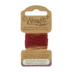 Fil de tissage pour bracelets Wrapit™ Loom - bordeaux