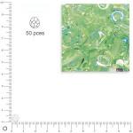Facettes dépolies - Jaspe - 6 mm x 50 pces