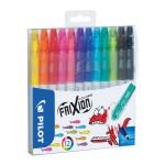 Feutre effaçable Frixion Colors Pochette 12 couleurs