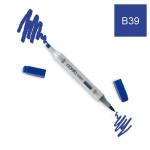 Marqueur à alcool double-pointe Ciao - B39 Bleu de Prusse