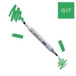 Marqueur à alcool double-pointe Ciao - G17 Vert fôret