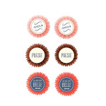 Stickers 3D thème poésie par 6