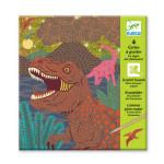Cartes à gratter Le règne des dinosaures