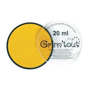 Fard de maquillage 20 ml - Jaune soleil
