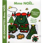 Livre Madame Noël - 40 gommettes et 8 décors à compléter