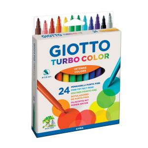 Feutre pointe fine Turbo Color par 24