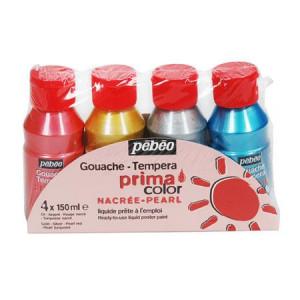 Assortiment PRIMACOLOR 4x 150 ml couleur nacré