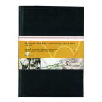 Livre à croquis format portrait couverture noire 120g/m² - 29,7 x 42 cm (A3)