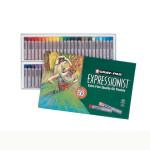 Boîte de 50 crayons pastels à l'huile