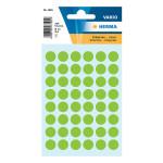 Etiquettes vertes 12 mm par 240