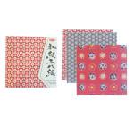 Papier Origami 48 feuilles Washi Chiyogami simple face 15 x 15 cm