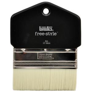 Brosse free.style palette en poils synthétiques - 102 mm