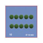 Boule pour arbre ronde 13 mm