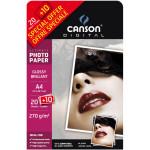 Papier photo brillant Ultimate A4 - 270 g/m² - 20 + 10 feuilles
