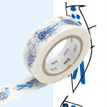 Masking Tape x Nordic countries Lisa Larson Oiseaux 15 mm x 10 m