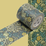 Masking Tape x Artist William Morris Algues marines 50 mm x 10 m