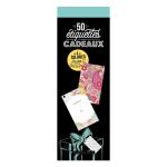 50 étiquettes cadeaux  spécial coloriages