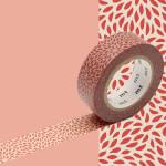 Masking Tape 1P Mujinagiku soho 15 mm x 10 m