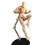 Figurine articulée pour le dessin Homme Body Kun