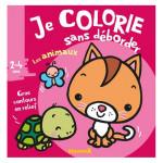 Album de coloriage Je colorie sans déborder Les animaux