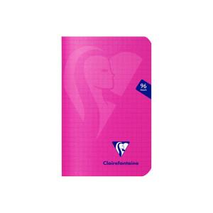 Carnet 9 x 14 cm petits carreaux Q. 5x5 96 pages Mimesys