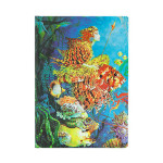 Carnet Fantaisies aquatiques 13 x 18 cm 144 p