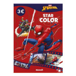 Album de coloriage Star color Marvel Spider-man