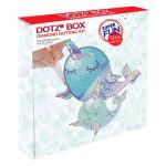Broderie Diamant kit Dotz Box Enfant débutant Narwhal dreams
