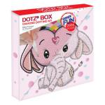 Broderie Diamant kit Dotz Box Enfant débutant Baby princess