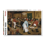 Puzzle Pieter Brueghel Repas de Noces 1000 pièces